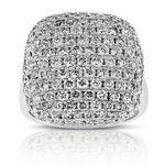 Pavé Top Diamond Ring 14K