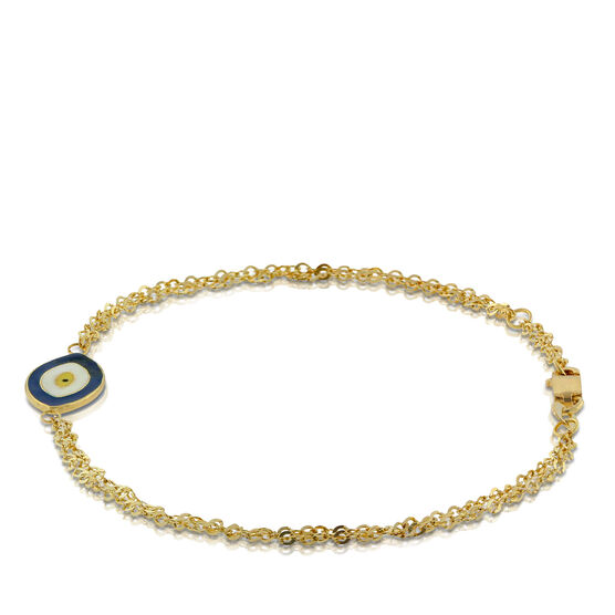 Eye of Protection Bracelet 14K