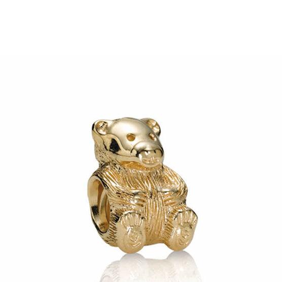 PANDORA Teddy Bear Charm 14K