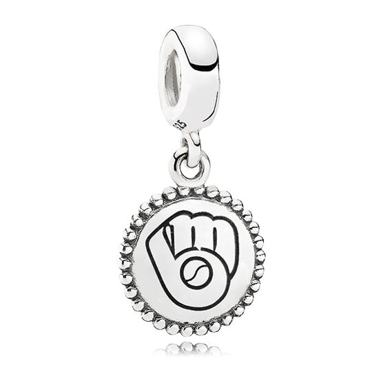PANDORA Brewers MLB Dangle Charm