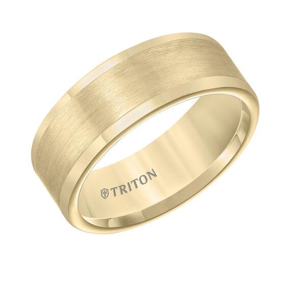 TRITON Yellow Tungsten Carbide Band
