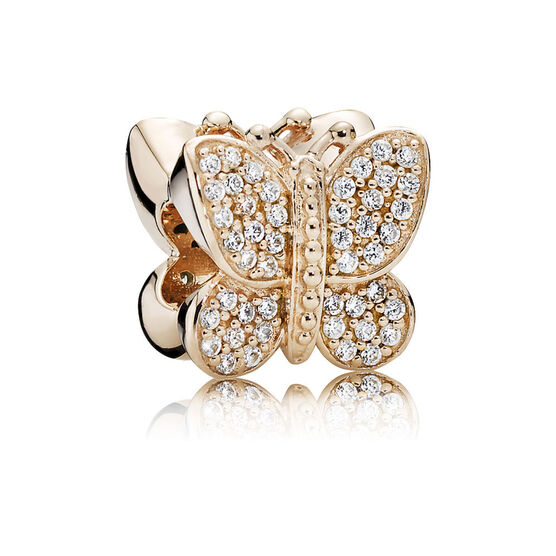 PANDORA Rose™ Sparkling Butterfly Charm