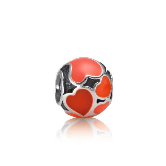 PANDORA Red Hot Love Charm