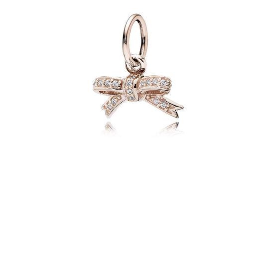 PANDORA Rose™ Sparkling Bow Pendant