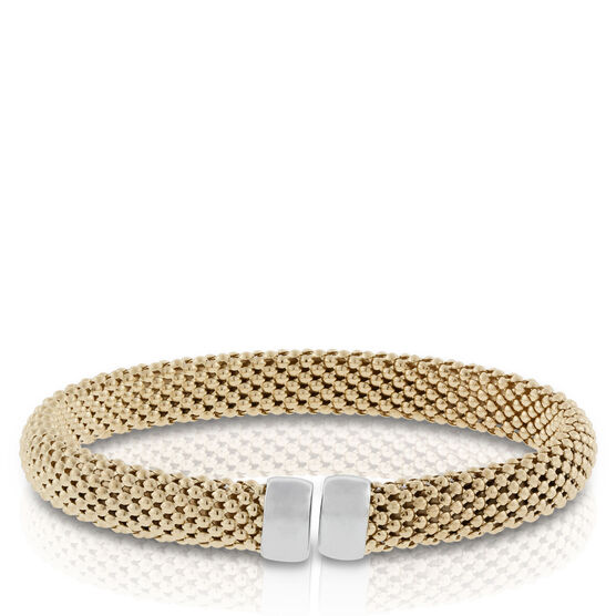 Toscano Collection Bombay Mesh Bracelet 18K
