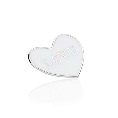 PANDORA Love Heart Plate, Medium