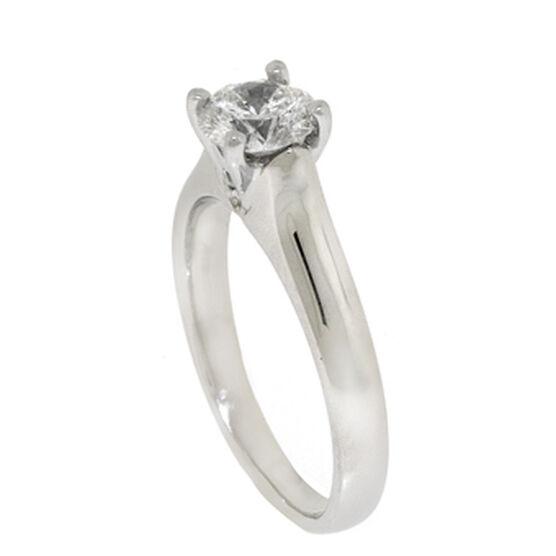 Ben Bridge Signature Diamond™ Solitaire Ring in Platinum, 3/4 ct.