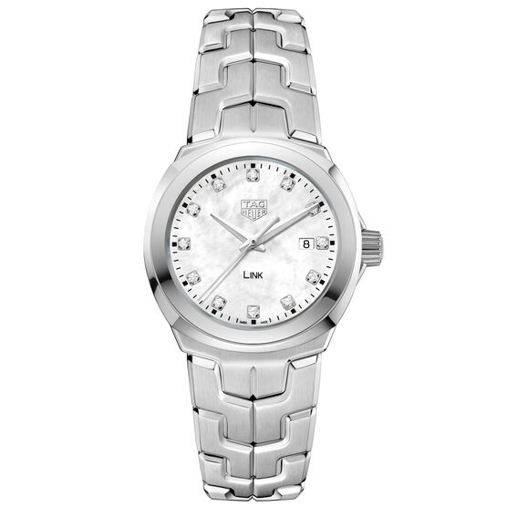 TAG Heuer  Link Diamond Dial Quartz Watch, 32mm