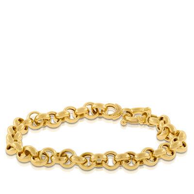 Toscano Collection Rolo Chain Bracelet 14K