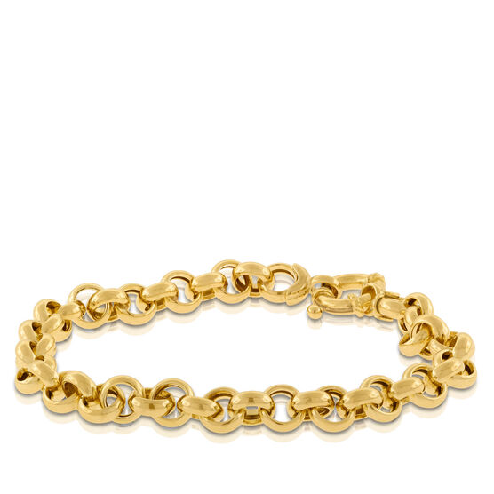 Toscano Collection Rolo Chain Bracelet 14K