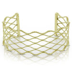 Toscano Waves Bangle 14K