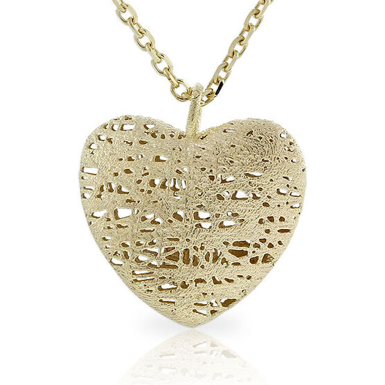 Toscano Collection Heart Pendant 14K