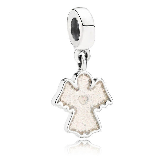 PANDORA Snow Angel Dangle Charm