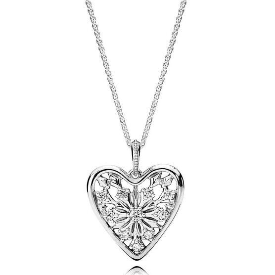 PANDORA Heart of Winter CZ Pendant