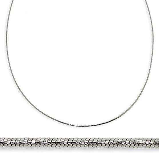 "Diamond Cut Snake Chain 14K, 18"""