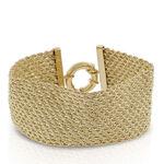 Toscano Woven Rope Bracelet 18K