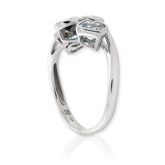 Gemstone & Diamond Ring 14K