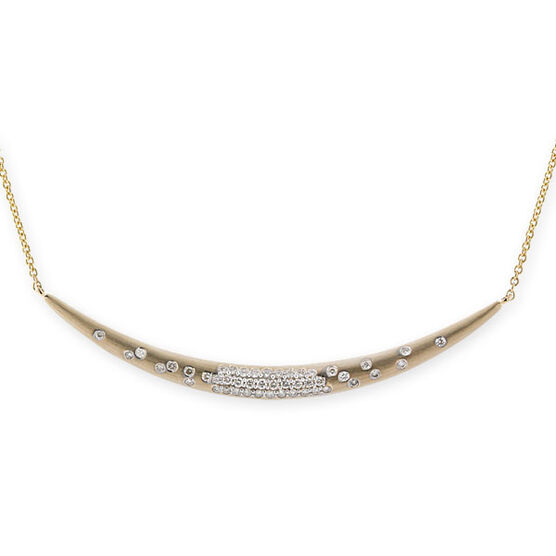 Whitney Stern Diamond Necklace 14K