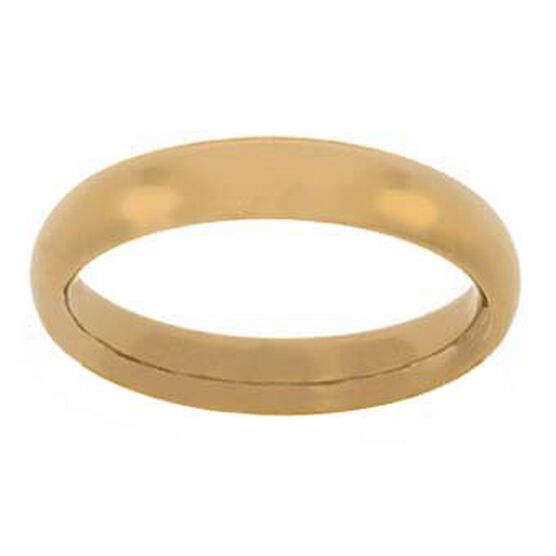 4mm Comfort Fit Band 14K, Size 9