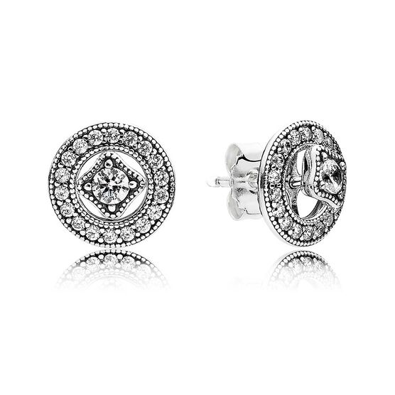 PANDORA Vintage Allure CZ Earrings