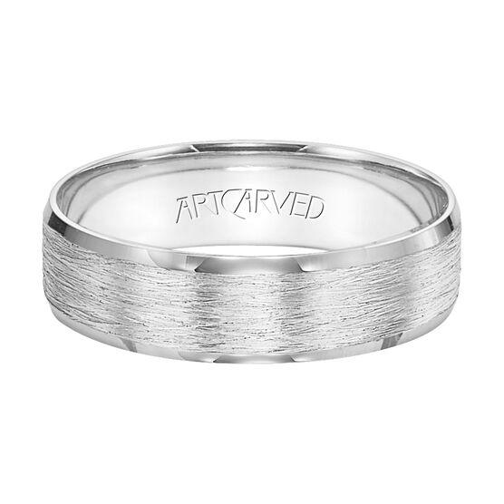 ArtCarved White Gold Band 14K