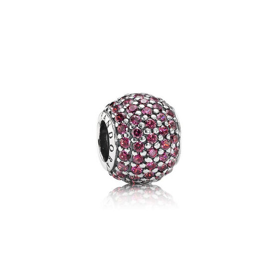 PANDORA Red Pavé Lights Charm