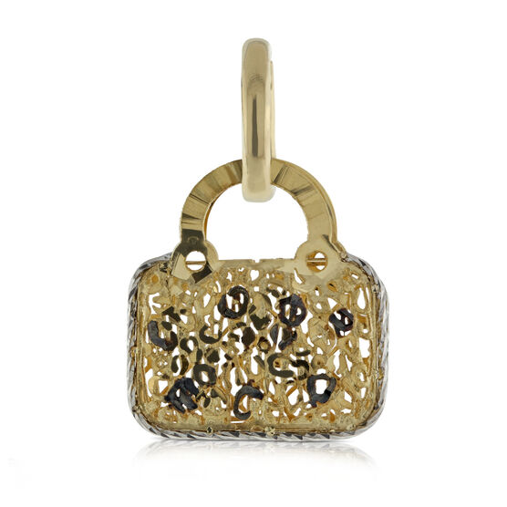 Toscano Collection Purse Charm / Pendant 14K