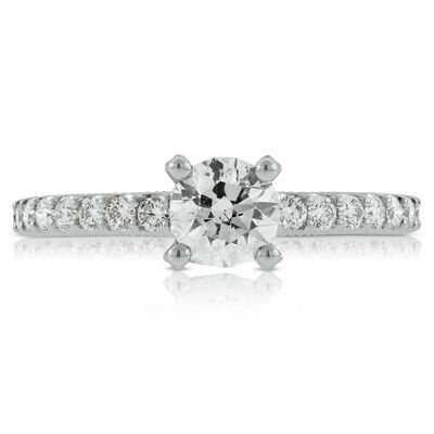 Classic Diamond Engagement Ring 14K