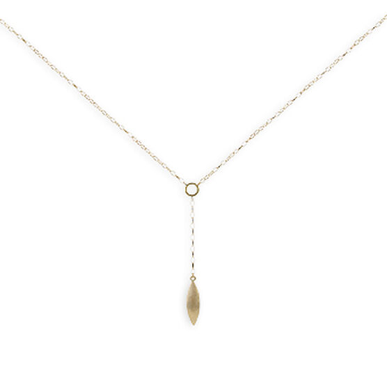 Drop Necklace 14K