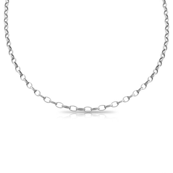 """Oval Link Chain 14K, 18"""""""