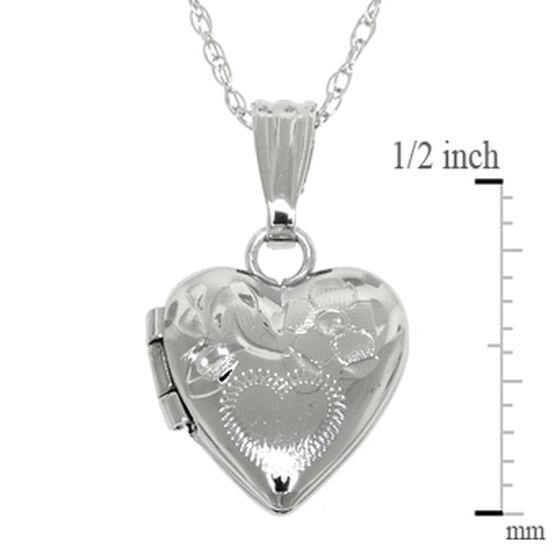 Baby Heart Locket 14K