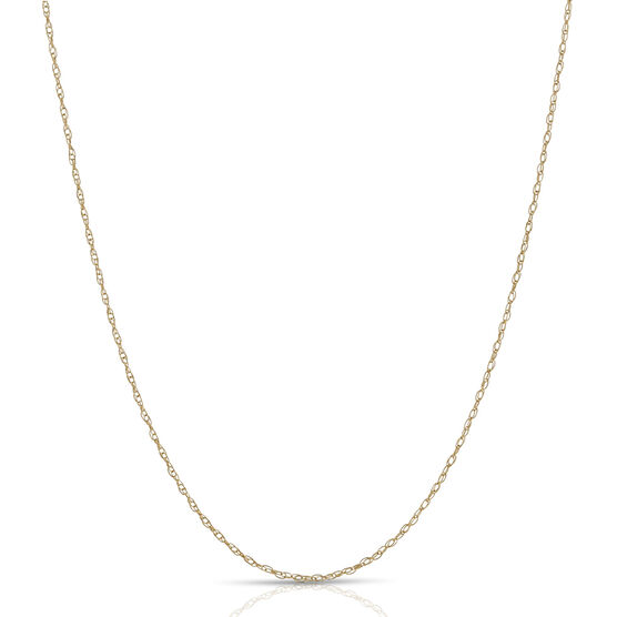 Yellow Gold Rope Chain 14K, 18""