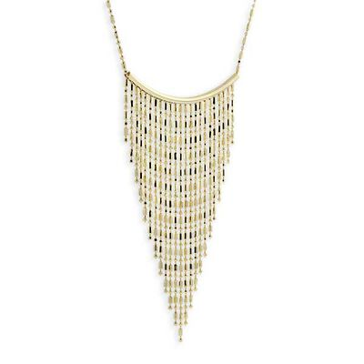 Bib Necklace 14K