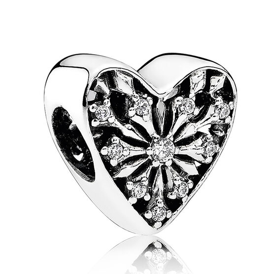 PANDORA Heart of Winter CZ Charm