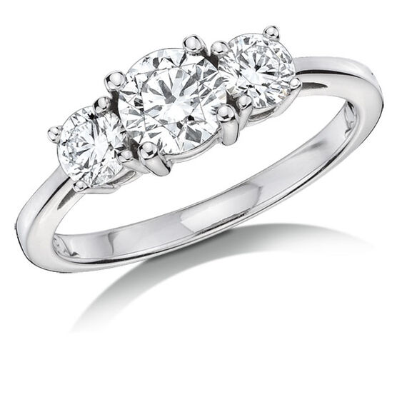 Forevermark Diamond Ring 18K, 1 ctw.