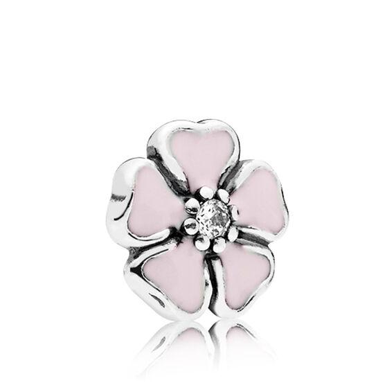 PANDORA Petite Element Cherry Blossom Enamel & CZ Charm