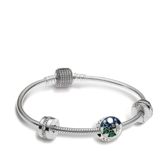 PANDORA Snowy Wonderland Bracelet Gift Set
