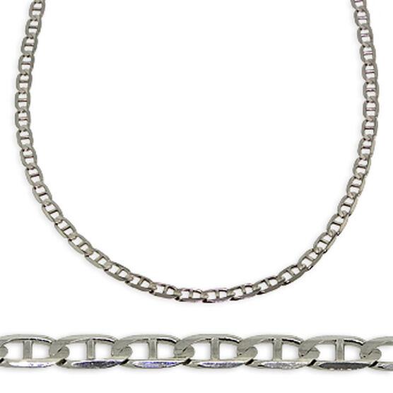 "Mariner Link Chain 14K, 22"""