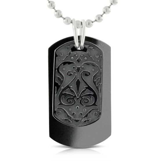 Edward Mirell Heritage Dog Tags Pendant