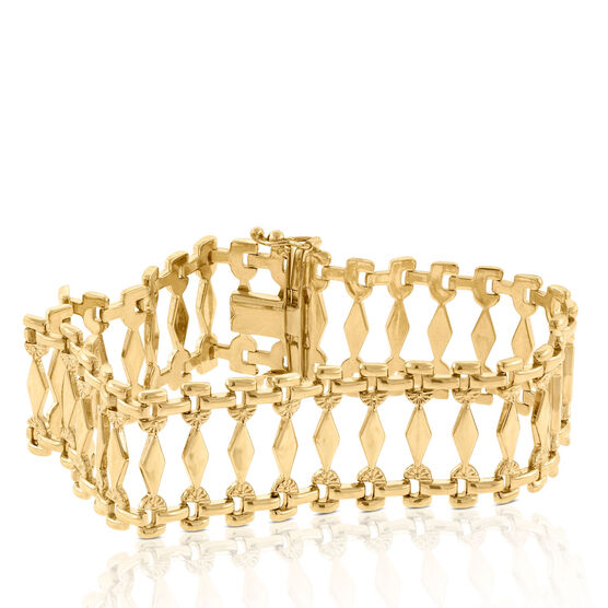 Toscano Collection Cleopatra Bracelet 14K