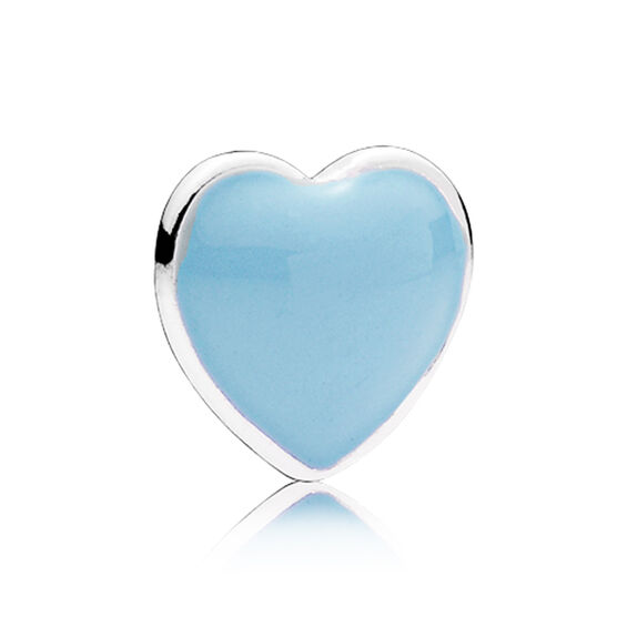 PANDORA Enamel Blue Heart Petite Charm