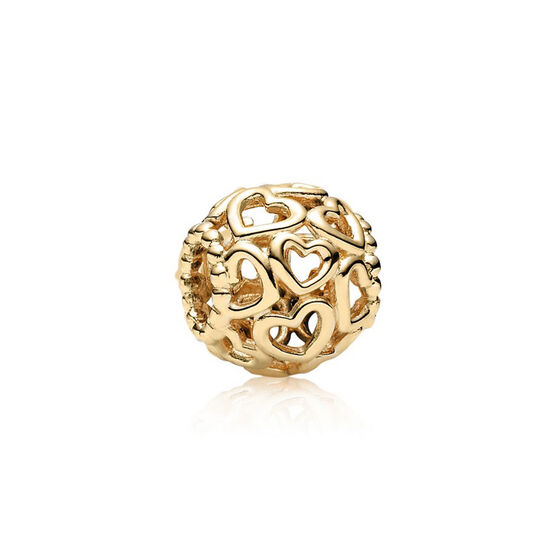 PANDORA Open Your Heart Charm 14K