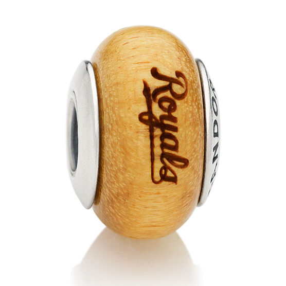 PANDORA Royals MLB Wood Charm