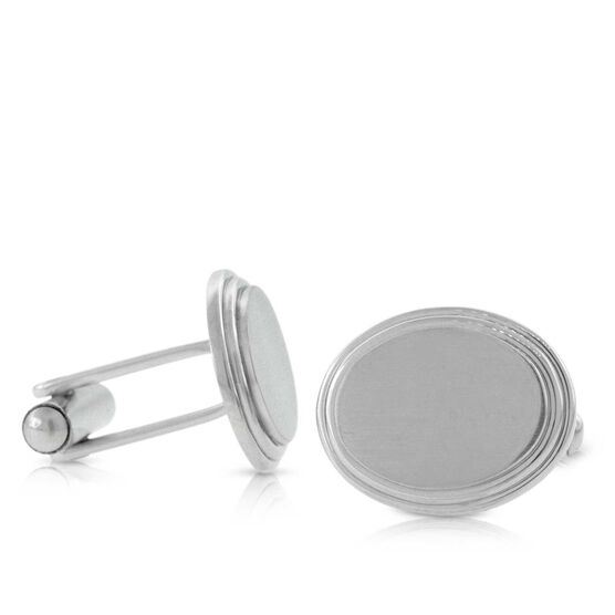 Cuff Links in Stainless Steel