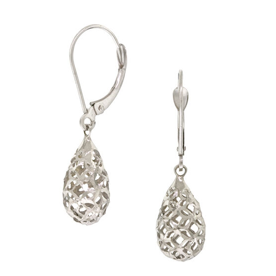 Filigree Earrings 14K