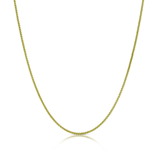 Wheat Chain 14K, 18""