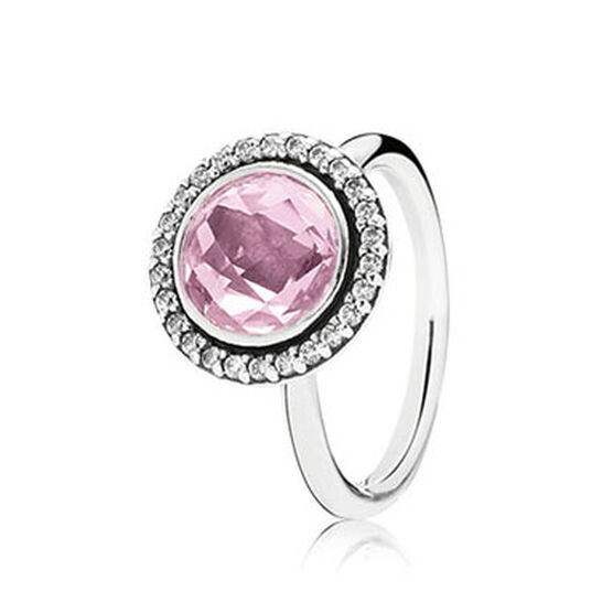 PANDORA Brilliant Legacy Pink CZ Ring