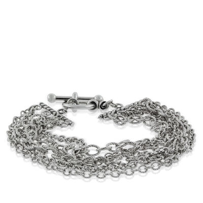 Lisa Bridge Six-Row Chain Bracelet