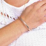 Rose Gold Toscano Diamond Cut Bangle Bracelet 14K