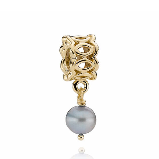 PANDORA Golden Lace Charm  14K  RETIRED